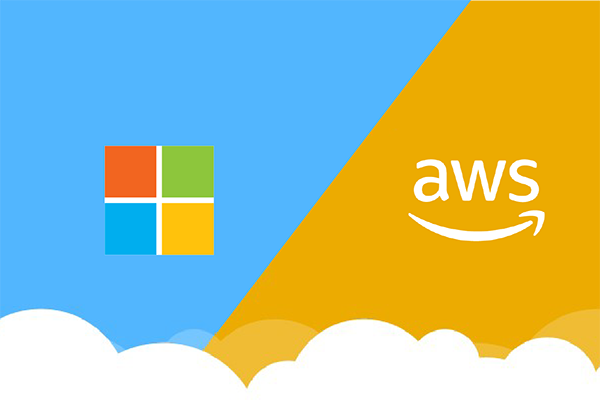 Microsoft Azure and Amazon AWS
