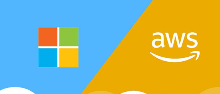 Microsoft Azure and Amazon AWS