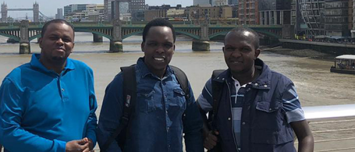 Visitors from the Kenyan Revenue Authority
